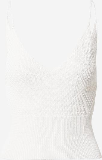 NU-IN Tops en tricot en blanc, Vue avec produit