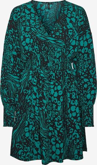 VERO MODA VMCAIA LS SHORT DRESS WVN GA in grün / schwarz, Produktansicht