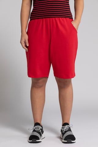 Ulla Popken Shorts in Rot