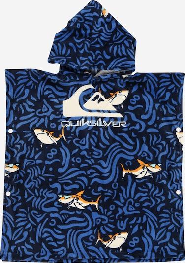 QUIKSILVER Badjas in de kleur Blauw / Navy / Sinaasappel / Wit, Productweergave