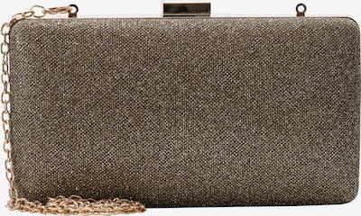 L.CREDI Box-Clutch Macau Box-Clutch in gold, Produktansicht