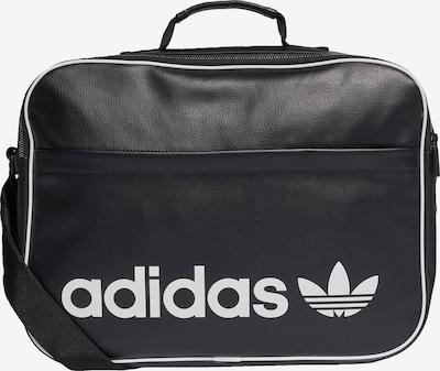 ADIDAS ORIGINALS Reisetasche in schwarz / weiß, Produktansicht