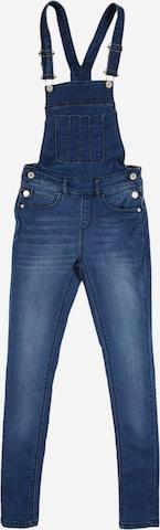 Cars Jeans Hängselbyxa 'VLINDER' i blå