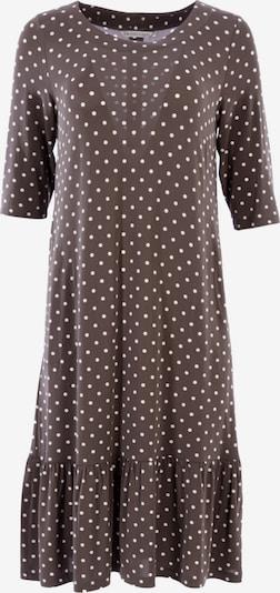 HELMIDGE Kleid in grau / weiß, Produktansicht