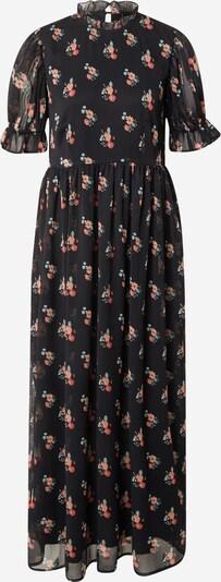 Y.A.S Kleid 'PIMA' in jade / pastellrot / schwarz, Produktansicht