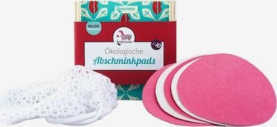 Lamazuna Patches in pink / weiß, Produktansicht