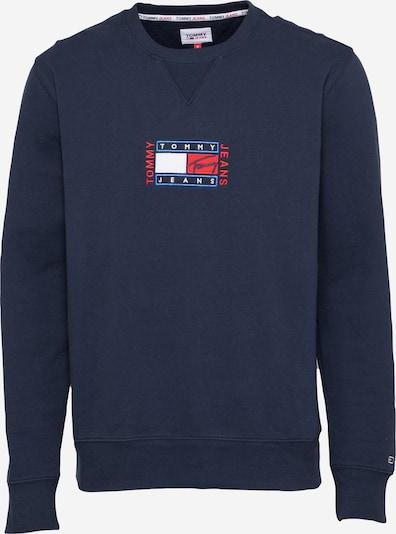 Tommy Jeans Sweatshirt in blau / navy / rot / weiß, Produktansicht
