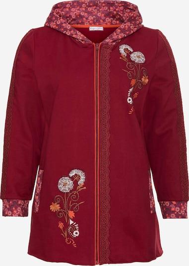 SHEEGO Mikina s kapucí - rubínově červená, Produkt