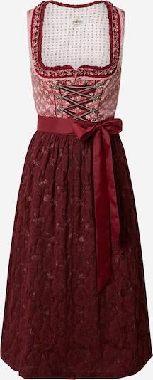 Dirndl ALMSACH di colore rosso vino, Visualizzazione prodotti