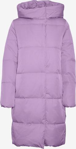 VERO MODA Winter Coat 'Stella' in Purple