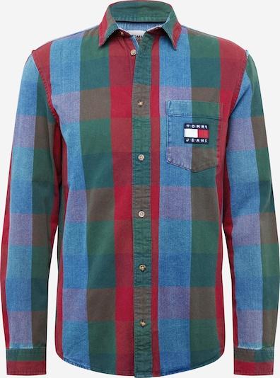 Tommy Jeans Hemd in indigo / blutrot, Produktansicht