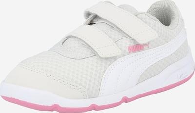 PUMA Sneaker 'Stepfleex' in hellgrau / cyclam / weiß, Produktansicht