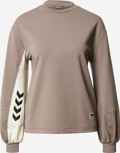 hummel hive Sweatshirt 'Groovy' in beige / grau, Produktansicht