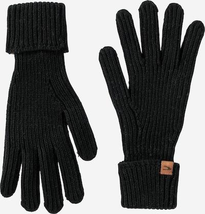 CAMEL ACTIVE Strickhandschuhe in schwarz, Produktansicht