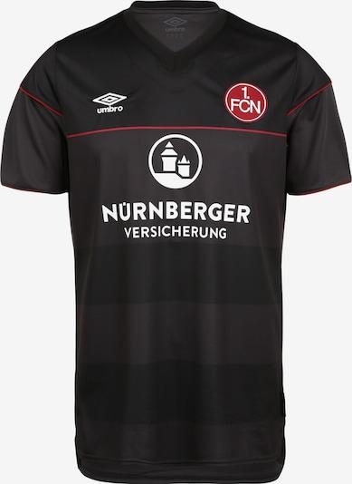 UMBRO Trikot '1. FC Nürnberg' in rot / schwarz / weiß, Produktansicht