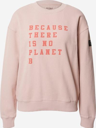 ECOALF Sweatshirt 'Cervino' in de kleur Rosa / Rood, Productweergave