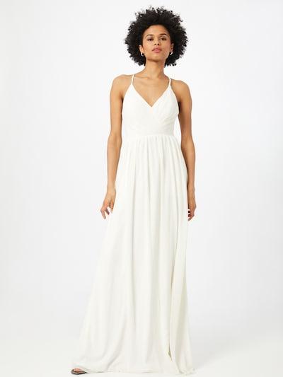 természetes fehér STAR NIGHT Estélyi ruhák, Modell nézet