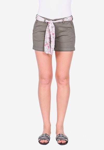 Le Temps Des Cerises Shorts LIVE2 im sommerlichen Look in khaki, Modelansicht