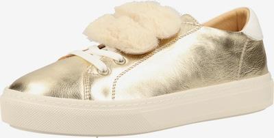 Darkwood Sneaker in gold, Produktansicht