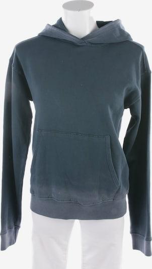 Velvet Sweatshirt & Zip-Up Hoodie in XS in Petrol, Item view