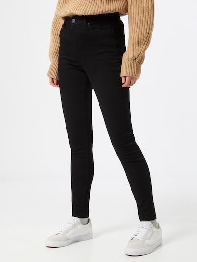 Tommy Jeans Jeans 'SYLVIA' in black denim, Modelansicht