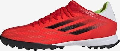 ADIDAS PERFORMANCE Voetbalschoen 'X Speedflow.3' in de kleur Limoen / Rood / Wit, Productweergave