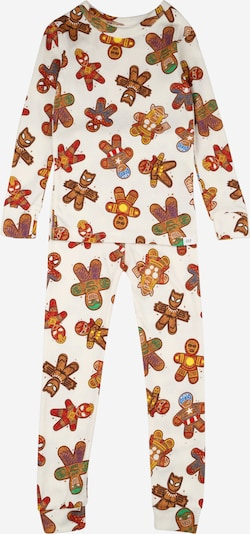 GAP Pijama en mezcla de colores / offwhite, Vista del producto