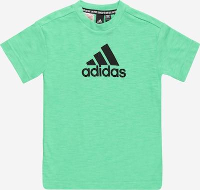 Sportiniai marškinėliai iš ADIDAS PERFORMANCE, spalva – mėtų spalva / juoda, Prekių apžvalga