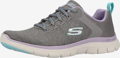 SKECHERS Sneakers in Turquoise / Dark grey / Lilac, Item view