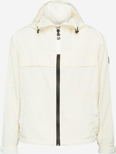 BOSS Prechodná bunda 'Caziro' - čierna / biela, Produkt