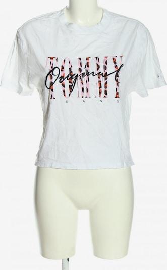 TOMMY HILFIGER T-Shirt in XS in pink / schwarz / weiß, Produktansicht