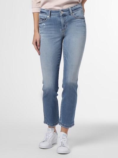 Cambio Jeans in blue denim, Modelansicht