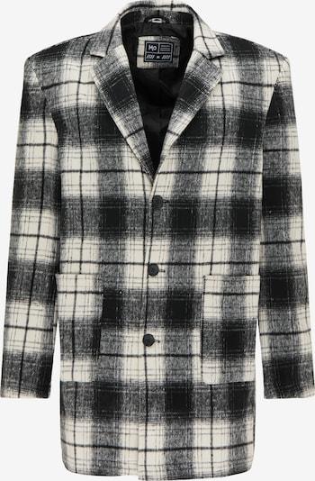 MO Prechodný kabát - čierna / biela, Produkt