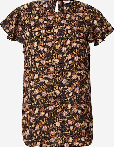 OVS Bluse in creme / goldgelb / rostrot / weinrot / schwarz, Produktansicht