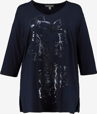 Ulla Popken Shirt in nachtblau, Produktansicht
