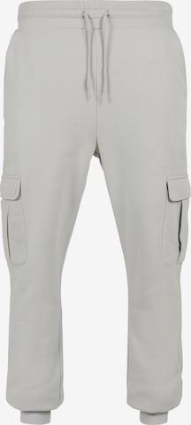 Pantalon cargo Urban Classics Big & Tall en gris