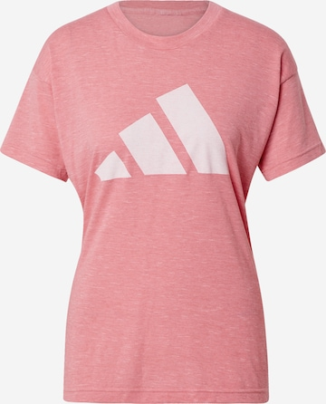 ADIDAS PERFORMANCE T-Shirt 'Winners' in Pink