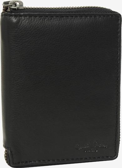 Gusti Leder Geldbörse 'Darian' in schwarz, Produktansicht