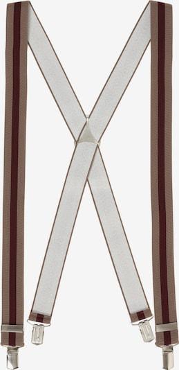 LLOYD Hosenträger in hellbraun / dunkelbraun, Produktansicht