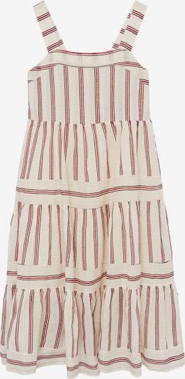MANGO KIDS Kleid in rot / schwarz / weiß, Produktansicht