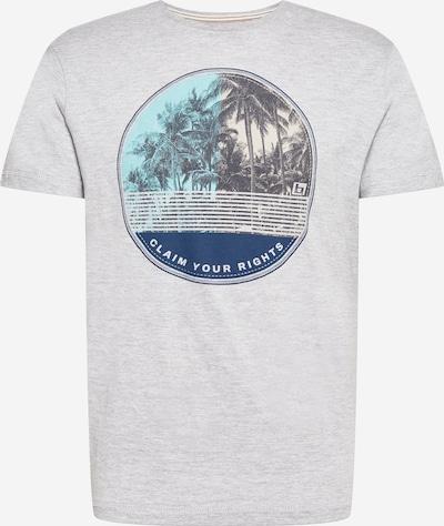 BLEND T-Shirt en gris chiné / mélange de couleurs, Vue avec produit