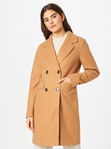 ABOUT YOU Prechodný kabát 'Ella' - Hnedá