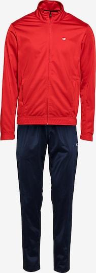 Champion Authentic Athletic Apparel Survêtement 'Tracksuit' en bleu marine / rouge, Vue avec produit