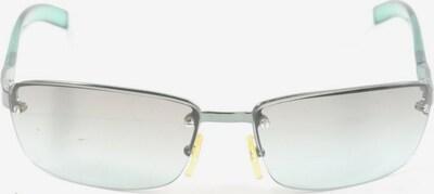 Max Mara eckige Sonnenbrille in One Size in türkis / hellgrau, Produktansicht