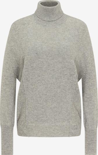 DreiMaster Klassik Oversized Sweater in Grey / Light grey, Item view