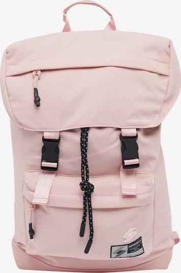 Superdry Sac à dos en rose clair / noir, Vue avec produit