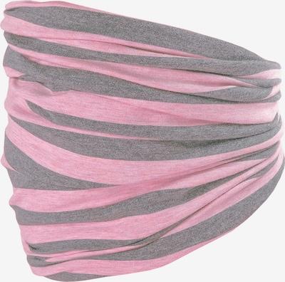 MAXIMO Écharpe en gris / rose, Vue avec produit