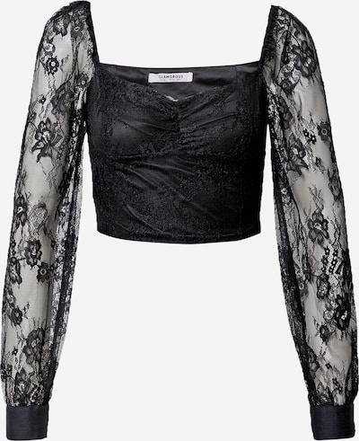 GLAMOROUS Bluse i sort, Produktvisning