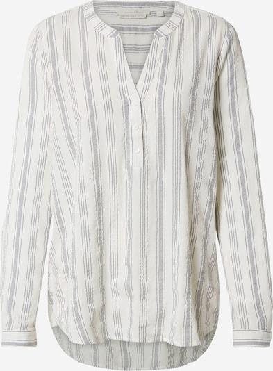 TOM TAILOR DENIM Blusen & Shirts Gestreifte Tunika in grau, Produktansicht