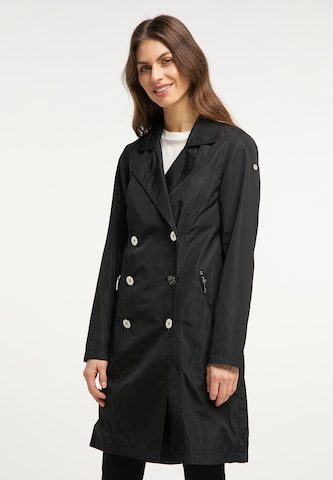 Usha Between-Seasons Coat in Black